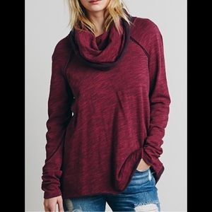 Cotton Cowl Neck Pullover Sweater